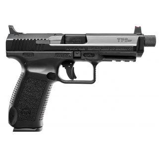 """Century Canik TP9SFT 9mm Luger 4.98"""" Barrel 18+1/20+1 Black HG4067N"""