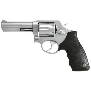 "Taurus 65 Standard 357 Magnum 4"" Barrel 6Rd Black Rubber Grip/Stainless 2650049"