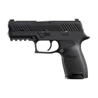 "Sig Sauer P320 Nitron Compact 9mm 3.9"" Barrel Night Sights 320C-9-BSS-MS"