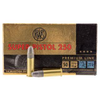 WAL 2315570 22LR SUPER PISTOL 250 50