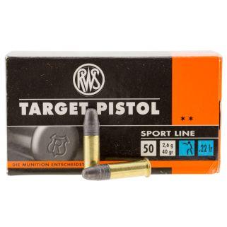 Walther RWS 22LR 40 GR 50RD/1 Box 2132710