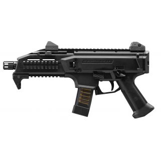 "CZ Scorpion Evo 3 S1 9mm Luger 7.72"" Threaded Barrel W/ Low Pro Adjustable Sights 20+1 Black 91351"