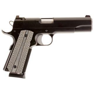 "Dan Wesson 1911 Valor 9mm Luger 5"" Barrel W/ Tritium Night Sights 9+1 Black G10 Grip/Black 01861"