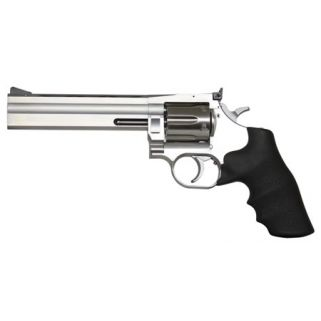"Dan Wesson 1911 715 357 Magnum 6"" Barrel W/ Adjustable Sights 6Rd Black Rubber Grip/Stainless 01935"