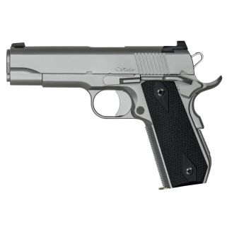 "Dan Wesson 1911 V-BOB 9mm Luger 4.25"" Barrel W/ Tactical Ledge Night Sights 9+1 Black Grip/Stainless 01870"