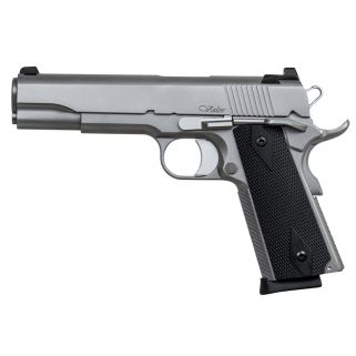 "Dan Wesson 1911 Valor 9mm Luger 5"" Barrel  W/ Tritium Night Sights 10+1 Black Grip/Stainless 01876"