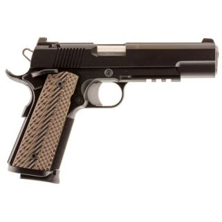 "Dan Wesson 1911 Specialist 9mm Luger 5"" Barrel W/ Tritium Sights 10+1 Brown/Black 01892"