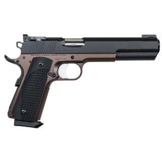 "Dan Wesson 1911 Bruin 10mm 6.3"" Barrel W/ Fiber Optic Front-Adjustable Rear Sights 8+1 Bronze/Black 01881"