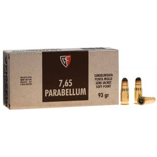 Fiocchi Specialty 30 Luger 93 Grain JSP 50 Round Box 765B