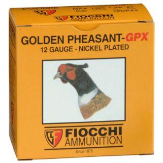 """Fiocchi Golden Pheasant HV 12 Gauge 5 Shot 2.75"""" 25 Round Box 12GPX5"""