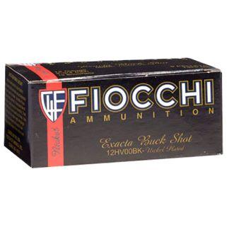"Fiocchi High Velocity 12 Gauge 00 Buck 2.75"" 10 Round Box 12HV00BK"