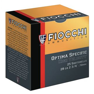 "Fiocchi High Velocity 28 Gauge 7.5 Shot 2.75"" 25 Round Box 28HV75"