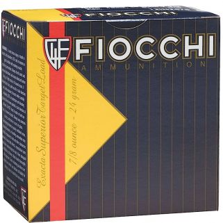 "Fiocchi Trainer 12 Gauge 7.5 Shot 2.75"" 25 Round Box 1278OZ75"