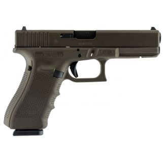 "Glock G17 Gen 4 9mm Luger 4.48"" Barrel 17+1 Midnight Bronze Cerakote UG1750204"