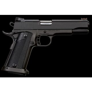 "Rock Island Armory 1911 Rock Ultra 10mm 5"" Barrel W/ Dovetail Fiber Optic Front-Adjustable Rear Sights 16+1 Parkerized 52009"