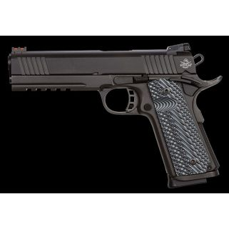 "Rock Island Armory 1911 Tactical Ultra 10mm 5"" Barrel W/ Tactical Adjustable Sights 8+1 G10 Grips/Parkerized 51914"