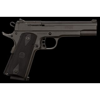 "Rock Island Armory 1911 XT22 Combo 22lR/45ACP 5"" Barrel W/ Low Profile Snag Free Sights 8+1 Checkered Wood Grips/Parkerized 51937"