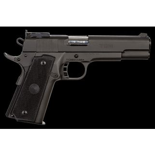 "Rock Island Armory TCM Rock Target HC 22TCM/9mm 5"" Barrel W/ Fixed Front-Adjustable Rear Sights 17+1 Black 51680"