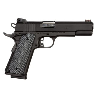 "Rock Island Armory TCM Rock Ultra Combo 22TCM/9mm 5"" Barrel W/ Fiber Optic Sights 10+1 G10 Grips/Parkerized Black 51962"