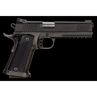 "Rock Island Armory Tactical Ultra Combo 22TCm/9mm 5"" Barrel W/ Adjustable Rear-Fiber Optic Front Sights 17+1 Black 51947"