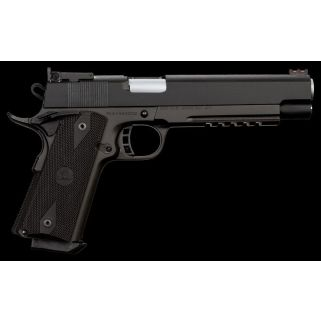 "Rock Island Armory 1911 Pro Match Ultra 10mm 6"" Barrel W/ Dovetail Fiber Optic Front Sights 8+1 Black 52008"