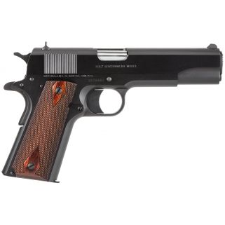 "Colt M1991 A1 45ACP 5"" Barrel W/ Fixed Sights 7+1 Rosewood Grips/Black O1991"