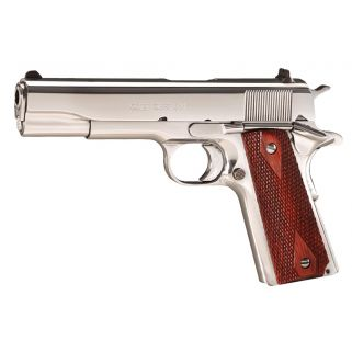 "Colt 1991 Government 38 Super 5"" Barrel W/ High Profile Sights 9+1 Rosewood Grips/Stainless O2071ELC2"
