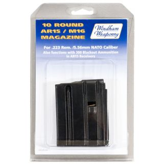 Windham Weaponry 223 Remington/5.56NATO Magazine 10Rd Black PK10RD