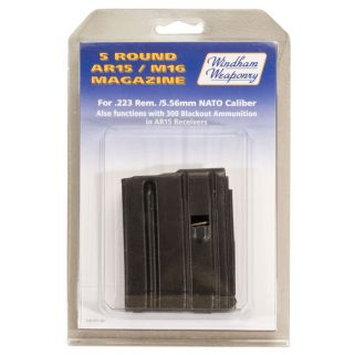 Windham Weaponry 223 Remington/5.56NATO Magazine 5Rd Black PK5RD