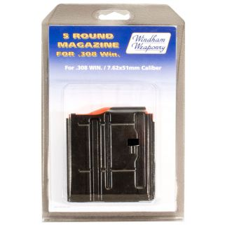 Windham Weaponry 308WIN/7.62NATO Magazine 5Rd Black PK5RD308