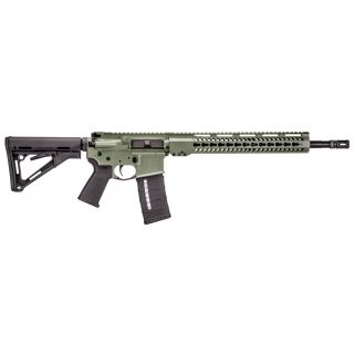 "Taurus T4SA Carbine 223 Remington/5.56NATO 16"" Barrel 30+1 Black/OD Green 345561631"