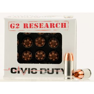 G2R 380 ACP CIVIC DUTY 20/25
