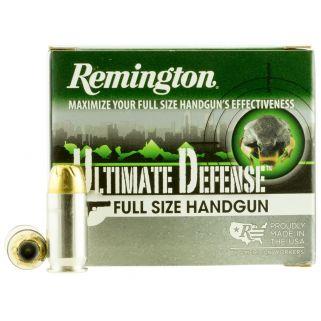 Remington Ultimate Defense 45ACP 185 Grain Brass 20 Round Box HD45APA