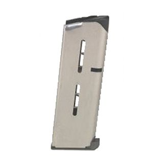 Wilson Combat 1911 Officer 45ACP Magazine 7Rd Stainless 47OXC