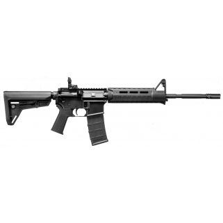 "DPMS Panther Warrior 223 Remington/5.56NATIO 16"" Barrel W/F Mark-Magpul Sights 30+1 Black 60529"