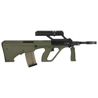 "Steyr AUG A3 M1 223 Remington/5.56NATO 16"" Barrel W/ 1.5X Optic 30+1 Green Synthetic/Black AUGM1GRNO"