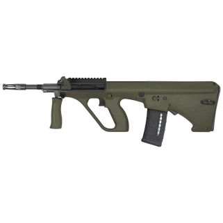 "Steyr AUG A3 M1 223 Remington/5.56NATO 16"" Barrel W/ Short Picatinny Rail 30+1 Green Synthetic-NATO Stock AUGM1GRNNATOS"