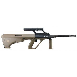"""Steyr STG77SA 223 Remington/5.56NATO 20"""" Barrel W/ 1.5X Optic 30+1 Green Synthetic STG77SA"""