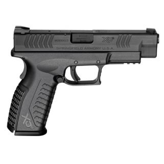 "Springfield Armory XDM 9mm Luger 4.5"" Barrel 19+1 Black Melonite XDM9201HCE"