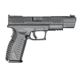 "Springfield Armory XDM Competition 9mm Luger 5.25"" Barrel 19+1 Black Melonite XDM95259BHCE"