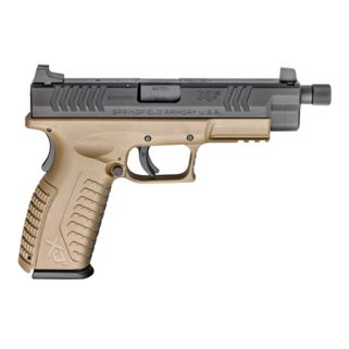 "Springfield Armory XDM 9mm Luger 4.5"" Threaded Barrel 19+1 Flat Dark Earth XDMT9459FDEH"