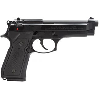 "Beretta 92FS Italy 9mm Luger 4.9"" Barrel W/ 3 Dot Sights 15+1 JS92F300M"