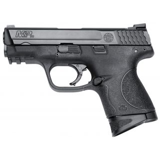"Smith & Wesson M&P Compact 9mm Luger 3.5"" Barrel W/ Low Profile Carry Rear Sight 12+1 209304"
