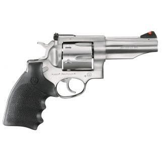 "Ruger Redhawk Stainless 44 Remington Magnum 4.2"" Barrel 6Rd Black Hogue Monogrip/Stainless Steel 5026"