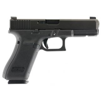 "Glock G17 Gen 5 9mm Luger 4.49"" Barrel W/ Night Sights 10+1 PA1750301AB"