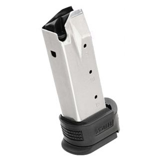 Springfield Armory XD 45ACP Magazine 10Rd Stainless W/Black Extension XD4547