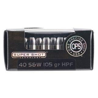 AMMO 40105HPF OPS 40SW 105 HPF 20/10