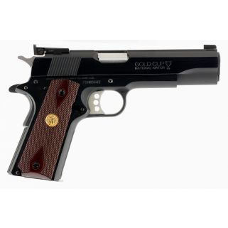 COLT O5872A1 GOLD CUP NTLMT SAO 9MM 5IN RSW/BL
