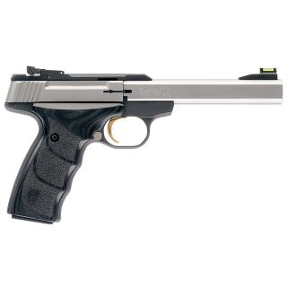 """Browning Buck Mark Plus 22LR 5.5"""" Barrel W/ Pro-Target Sights 10+1 *CA Compliant* Black/Stainless 051427490"""