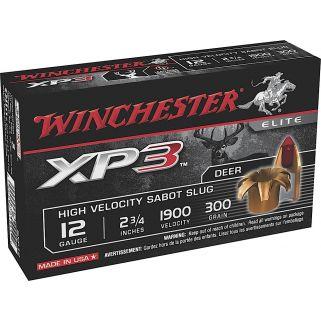 "Winchester Supreme Elite XP3 12 Gauge Sabot Shot 2.75"" 5 Round Box SXP12"